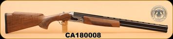 "Huglu - 12Ga/3""/26 - S12E - Wd/Bl/Silver Receiver, M Choke, Adjustable Comb, S/N CA180008"