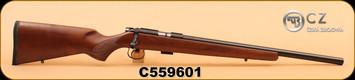 "CZ - 22LR - 455 - Varmint - Walnut Stock/Blued Finish, 20.5"" Cold Hammer Forged Barrel, S/N C559601"