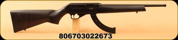 """CZ - 22LR - 512 Carbine - Black Beachwood/Blued, 16.5"""" Threaded Barrel, MFG#: 02267"""