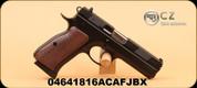 "CZ - 97B - 45ACP - black polycoat/Wood Grips, 4.5"""