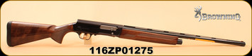 """Browning - 16Ga/2.75""""/26"""" - A5 - Sweet Sixteen - Wd/Bl, Invector-DS Choke Tubes"""