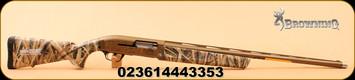 "Browning - 12Ga/3""/28"" - Maxus - Wicked Wing MOSGB - Mossy Oak Shadow Grass Blades/Cerakote Burnt Bronze, Ext Invector Plus Choke System"