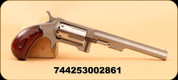"North American Arms - 22LR - Sidewinder - Rosewood/SS, 4.25"", 5 Shot capacity, Swing-out cylinder"