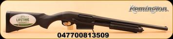 "Remington - 12Ga/3""/18.5"" - Model 870 DM - Express Tactical - Black Synthetic/Matte Bl, 6 Rnd Detachable Mag, Mfg# 81350"
