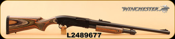"Consign - Winchester - 12Ga/3""/21.5"" - Model 1300 - Green Lam/Bl - National Wild Turkey Federation engraved, 3 chokes, EGW Rail (unmounted)"