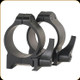 Warne - Maxima Series - Quick Detach Steel Rings - 30mm - Low - Matte Black - 213LM
