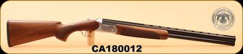 "Huglu - 12Ga/3""/26"" - 103D - O/U, Turkish Walnut/Bl, Silver Receiver,  M.Choke, SKU# 8681715390314, S/N CA180012"
