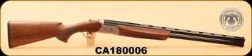 "Huglu -12Ga/3""/28"" - Ventus - O/U - Turkish Walnut/Blued/Bronze Receiver, 5 LI VENTUS Mobile Shock Set,  multi-choke, SKU# 8681715390529, s/n CA180006"