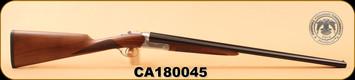"""Huglu - 200A - 20Ga/3""""/26"""", Turkish Walnut/Bl/Case Coloured Receiver, M.Choke, S/N CA180045"""