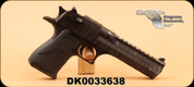 "Consign - Magnum Research - 50AE - Desert Eagle Mark XIX - Blk grips/Black Tiger Stripes, 6"" - Unfired, New in case"