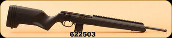 "ISSC - 22 LR - SCOUT ULTIMATE - Black Polymer, UNF Threaded 20"", Straight pull action rifle, Full length rail up front, c/w TSK (Tactical Safety Knife) integrated in the synthetic stock"