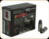 Barnes - 9mm Luger + P - 115 Gr - TAC-XPD - TAC-XP HP - 20ct - 21551