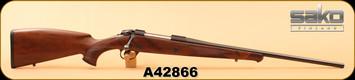 "Consign - Sako - 270Win - 85M Bavarian - Matte Walnut/Blued, 22.5"", c/w original box"