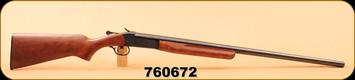 "Consign - Cooey - 12ga/3""/30"" - Model 840 Single Shot - Wd/Bl, Full Choke"