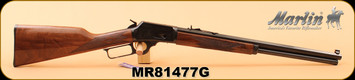 "Marlin - 45Colt - Model 1894 Limited Edition - Lever Action Rifle - Walnut Stock/Engraved Receiver/Highly Polished Blued Octagon 20"" Barrel, 10 shot tubular magazine, S/N MR81477G"