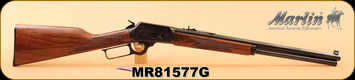"Marlin - 45Colt - Model 1894 Limited Edition - Lever Action Rifle - Walnut Stock/Engraved Receiver/Highly Polished Blued Octagon 20"" Barrel, 10 shot tubular magazine, S/N MR81577G"
