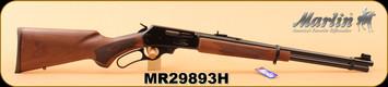 "Marlin - 30-30Win - 336C30 - Walnut Stock/Blued Finish, 20""Micro-Groove barrel, Adjustable Semi-Buckhorn Sights, S/N MR29893H"