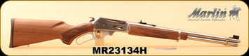 """Marlin - 30-30Win - 336SS - Lever-Action Rifle, American Black Walnut/SS, 20"""" Micro-Grooved Barrel, 6 Round Tubular Magazine, S/N MR23134H"""