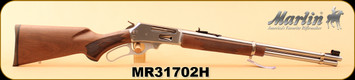 """Marlin - 30-30Win - 336SS - Lever-Action Rifle, American Black Walnut/SS, 20"""" Micro-Grooved Barrel, 6 Round Tubular Magazine, S/N MR31702H"""