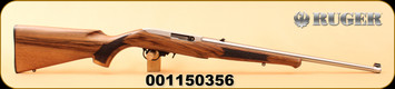 """Ruger - 22LR - 10/22 Classic III - Deluxe Altamont French Walnut/Stainless, 20"""", Talo Exclusive, S/N 001150356"""