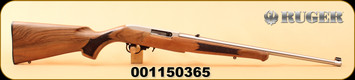 """Ruger - 22LR - 10/22 Classic III - Deluxe Altamont French Walnut/Stainless, 20"""", Talo Exclusive, S/N 001150365"""