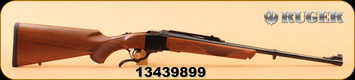 """Ruger - 280Rem - No. 1 Light Sporter - American Walnut Stock/Blued, 22"""" Barrel, Iron Blade front sight and adjustable rear sight, Ruger scope mounting system with bases and rings"""