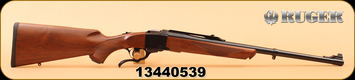 "Ruger - 9.3x62Mauser - Number 1 Medium Sporter -  American Walnut Stock/Alloy Steel Blued 22"" Barrel, Adjustable Rear Sight, Artillery style breechblock and under lever"