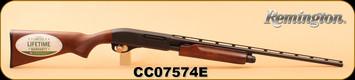 """Remington - 410/3""""/25"""" - Model 870 Express - Hardwood Stock/Matte Blued, Pump Action, Full Choke, Vent Rib, S/N CC07574E"""