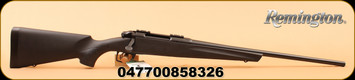 "Remington - 243Win - 783 Bolt Action Rifle - Matte Black Synthetic Stock/Blue Finish, 22"" Carbon Steel Magnum Contour Button Rifled Free Float Barrel, 4 Round Detachable Box Magazine"