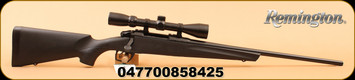 "Remington - 243Win - 783 Bolt Action Rifle - Matte Black Synthetic Stock/Blue Finish, 22"" Carbon Steel Magnum Contour Button Rifled Free Float Barrel, 4 Rounds, c/w 3-9x40mm Scope"