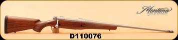"""Montana Rifle Company - 338Lapua - Dangerous Game Rifle (DGR) - 1999 Professional Hunter Action - Glass Bedded in a Boyds Prairie Hunter Stock/26"""" Chrome Moly Blued, PH# Contour Barrel, 1"""" Pacmeyer Decelerator"""