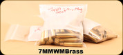 Used - Assorted 7mmWbyMag Brass - Primed/Unprimed - 176 Count