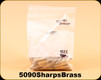 Used - Starline - 50-90Sharps Brass - Unprimed - 50 Count