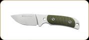 Boker - Real Steel Hunter 165 Green - 6.9cm Blade - 12C27 - 02RE007