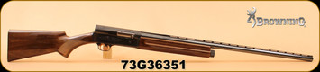 "Consign - Browning - 12Ga/2.75""/30"" - Auto-5 Light Twelve - Wd/Bl, gold trigger - Made in 1973"