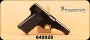"Consign - Browning - 7.65mm - Semi-Auto - Blk, 3.25"" Prohib - In original box"
