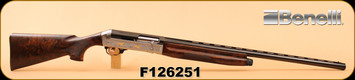 """Consign - Benelli - 12Ga/3""""/27.5"""" - CRC Executive - Wd/Bl, Custom made w/ different engravings on each side of receiver - In case"""