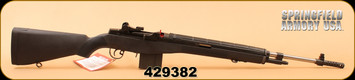"Springfield - 6.5Creedmoor - M1A National Match - Semi-Auto - Black Composite/Stainless, 22"", National Match Grade Barrel"