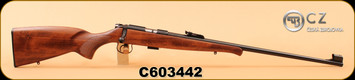 "CZ - 22LR - 455 Military Training - 455 action - Beechwood stock/Blued finish, 24.8"" cold hammer forged barrel, Adjustable trigger, 5rds, S/N C603442"