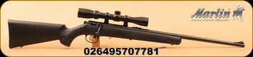 """Marlin - 22LR - XT-22RO - Black Synthetic Stock w/ Palm Swell & Textured Grip/Blued Finish, 22"""" Micro-Groove Rifled Barrel, Pro-Fire Adjustable Trigger - Factory mounted and boresighted 3-9x32mm Scope"""