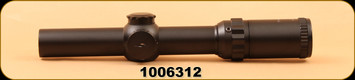 Consign - Millett - DMS-1 - Designated Marksman Scope - 1-4x24, Illuminated Donut-Dot Reticle, matte black, MFG#BK81002