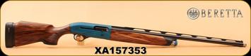"Consign - Beretta - 12Ga/3""/28"" - A400 Xcel - Semi-Auto ft. Blink technology - Wd/Blue Receiver/Blued Finish - Cold Hammer Forged Barrel, Optima Bore HP, Balance Cap, Micro-Core buttpad"