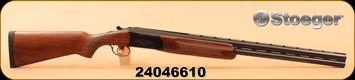 """Used - Stoeger - E.R. Amantino - 12Ga/3""""/28"""" - 20Ga/3""""/26"""" - Condor I - O/U 2 barrel set - Walnut/Blued finish"""