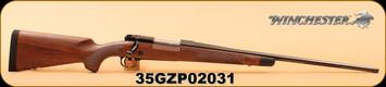 """Winchester - 280Rem - Model 70 - Super Grade LA - Grade IV/V Walnut Stock/Brushed Polish Finish, 24"""" Cold Hammer Forged, Free Float Blued Barrel, Bedded Stock, Shadowline Cheekpiece, 3-5lbs Adjustable Trigger, MFG# 535203227"""