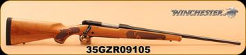 """Winchester - 270Win - Model 70 - Featherweight High Grade Maple - AAAA Gloss Finish Maple/Blued, Brushed Polished Finish, 22""""  - Multiple photos as side profile photo does not properly show the beautiful wood grain!"""