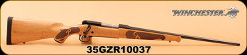 """Winchester - 30-06Sprg - Model 70 - Featherweight High Grade Maple - AAAA Gloss Finish Maple/Blued, Brushed Polished Finish, 22"""" - Multiple photos, as side profile photo does not properly show the beautiful wood grain!"""