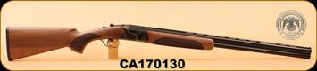 """Used - Huglu - 20Ga/3""""/28"""" - Model 103 DE - O/U, Turkish Walnut/Case Coloured Receiver/Blued Barrel, single trigger, C, IC, M, IM, F"""