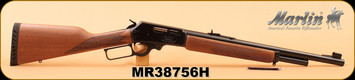 """Marlin - 45-70Govt - 1895G - Lever Action - American Black Walnut; Includes Checkered-Cut Straight Grip, Ventilated Recoil Pad And Swivel Studs/Blued, 18.5"""", S/N MR38756H"""