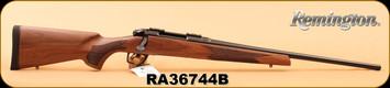 "Remington - 6.5Creedmoor - Model 783 - Pillar Bedded Walnut Stock/Blued, 22"" Carbon Steel Magnum Contour Button Rifled, Free Float Barrel, S/N RA36744B"