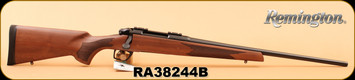 "Remington - 6.5Creedmoor - Model 783 - Pillar Bedded Walnut Stock/Blued, 22"" Carbon Steel Magnum Contour Button Rifled, Free Float Barrel, S/N RA38244B"